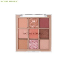 NATURE REPUBLIC Pro Touch Killing Point Shadow Palette #03 Rosy Canvas 7.7g
