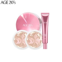 AGE 20'S Essence Cover Pact Set 4items [Radiance Edition]