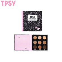TPSY Airy Matte Eyeshadow Palette 1.2g*9colors