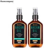 RAON Black Argan Oil 100ml*2ea,Beauty Box Korea