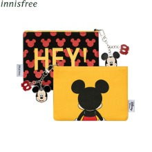 INNISFREE Mickey Pouch Keyring Set 2items [Innisfree X Disney],Beauty Box Korea