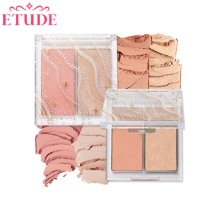 ETUDE HOUSE Glittery Snow Face Palette 4g+3.8g [Glittery Snow 2020 Holiday Collection]