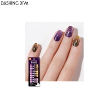 DASHING DIVA Gloss Gel Nail Strip 1ea [Halloween]