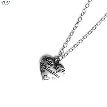 17.5˚ Lettering Heart Necklace 1ea,Beauty Box Korea