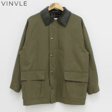 VINVLE Check Collar Cuff Field Jacket 1ea,Beauty Box Korea