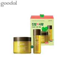 GOODAL Houttuynia Cordata Calming Moisture Cream Special Set 2items [Heart Edition]