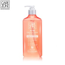 CARE ZONE Acne Clarifying PH Gel Cleanser 380ml,Beauty Box Korea