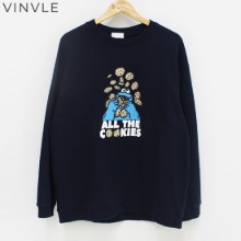 VINVLE Cookies Sweatshirt 1ea,Beauty Box Korea
