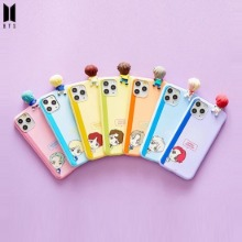 BTS CHARATER Figure Color Jelly Case 1ea