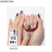 DASHING DIVA Big Stone Magic Press 1ea [Glitter Bomb Premium]
