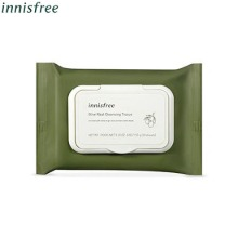 INNISFREE Olive Real Cleansing Tissue (30 Sheets),INNISFREE