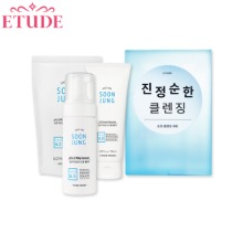 ETUDE HOUSE Soon Jung Soothing Cleansing Set 3items [Online Excl.]