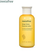 INNISFREE Ginger Honey Essential Lotion 160ml,INNISFREE