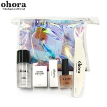 OHORA Hologram Pouch Nail Care Kit 5items,Beauty Box Korea