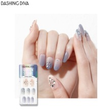 DASHING DIVA Queen Stone Magic Press 1ea [Glitter Bomb Premium]