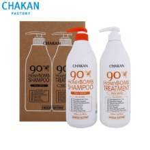 CHAKAN FACTORY Honey Bomb Shampoo + Treatment Set 2items