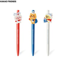 KAKAO FRIENDS Christmas Gel Pen Set 3items [2020 White Christmas Edition],Beauty Box Korea