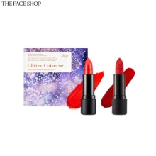 THE FACE SHOP Fmgt Glitter Universe Rouge Satin & Matte Set 2items