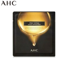 AHC Pro-vital Golden Ampoule Mask 25ml,Beauty Box Korea