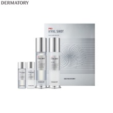 DERMATORY Pro Hyal Shot Skin Care Duo Set 4items