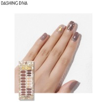 DASHING DIVA Gloss Ultra Shine Gel Nail Strip 1ea [Glitter Bomb]