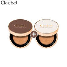 CLEDBEL Clean Collagen Cover Cushion 1+1 Special Set 2items [Limited Edition]