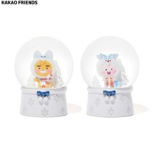 KAKAO FRIENDS White Mini Snow Globe 1ea [2020 White Christmas Edition]