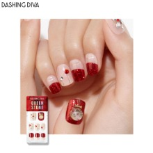 DASHING DIVA Queen Stone Magic Press 1ea [Wonder Red Premium]