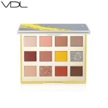 VDL Expert Color Eyeshadow Palette #Illuminating & Ultimate Gray 15.5g [2021 VDL+PANTONE™ Collection]