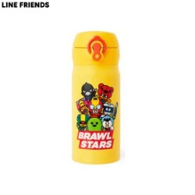 LINE FRIENDS Brawl Stars Yellow Thermos Tumbler (350ml) 1ea