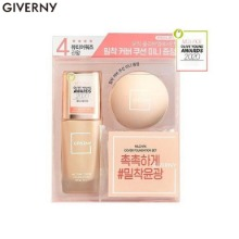 GIVERNY Milchak Cover Foundation Special Set 2items [2020 OLIVE YOUNG Awards]