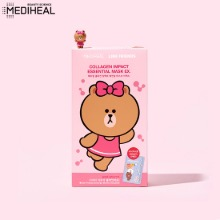 MEDIHEAL X LINE FRIENDS Mask EX Set 10items