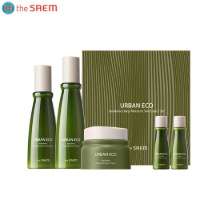 THE SAEM Urban Eco Harakeke Deep Moisture Skin Care Set 5items