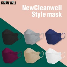 CLEANWELL New Cleanwell Style KF94 Color Mask 60ea