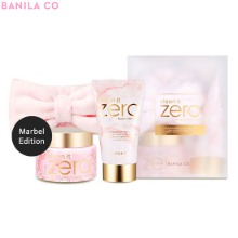 BANILA CO Clean It Zero Cleansing Balm Marbel Edition Set 3items