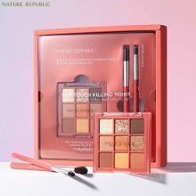 NATURE REPUBLIC Pro Touch Killing Point Shadow Palette 03 Coral Haze Special Set 3items [Online Excl.]