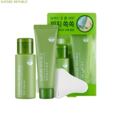 NATURE REPUBLIC Bamboo Charcoal Nose & T-Zone Pack 33ml+25ml,NATURE REPUBLIC