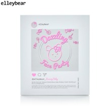 ELLEYBEAR Glitter Jelly Mask 30g*5ea