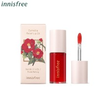 INNISFREE Camellia Relief Lip Oil 4g [2021 Jeju Color Picker Camellia Edition]