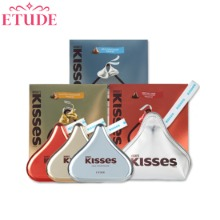ETUDE HOUSE Play Color Eyes HERSHEY'S Kisses Pouch Kit 2items [ETUDE HOUSE X HERSHEY'S Kisses Collaboration]