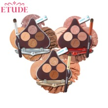 ETUDE HOUSE Play Color Eyes HERSHEY'S Kisses Brush Kit 2items [ETUDE HOUSE X HERSHEY'S Kisses Collaboration][Online Excl.]