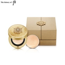 THE HISTORY OF WHOO Cheonyuldan Hwayul Signature Cushion Foundation SPF 35+ PA++ 15g*2ea