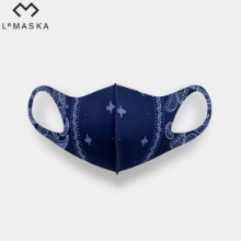 LEMASKA Celebrity Fashion Mask (Paisley) 1ea