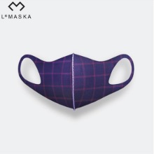 LEMASKA Celebrity Fashion Mask (Plaid) 1ea