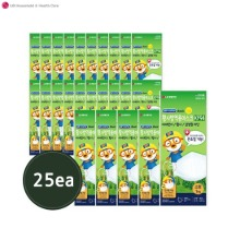 AIRWASHER BASIC Pororo Yellow Dust Prevention KF94 Mask Small 25ea,Beauty Box Korea