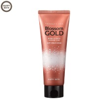 HAPPY BATH Therapy Spa Blossom Gold Walnut Shell Rose Hip Soft Cream Scrub 180ml