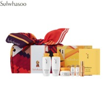 SULWHASOO Elasticity Essential 3Pieces With Wrapping Cloth Set 7items