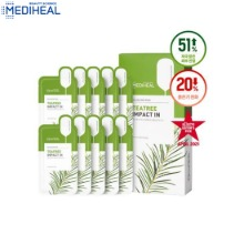 MEDIHEAL Tea Tree Impact In Balancing Mask 24ml*10ea