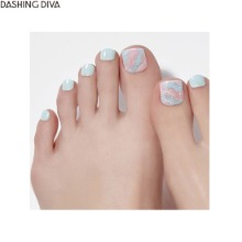 DASHING DIVA Magic Press Pedicure 1ea [Glow Up],Beauty Box Korea