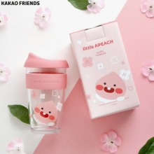 LITTLE KAKAOFRIENDS Apeach Glass Tumbler 1ea